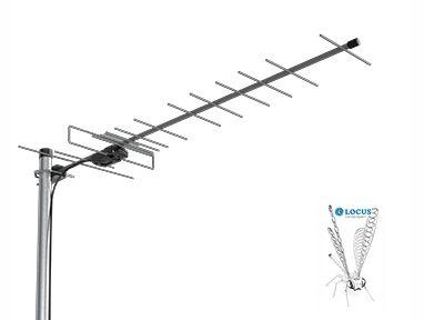ТВ антенна Эфиp-18AF, наружная с усилителем