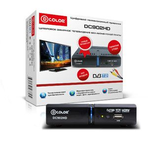 D-Color DC902HD (Цифровое ТВ, Санарип)